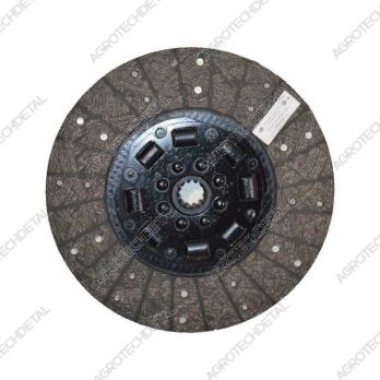 Диск сцепления МТЗ-1221 85-1601130 резиновый демпфер, элипсонавитая накладка ЛЗТД